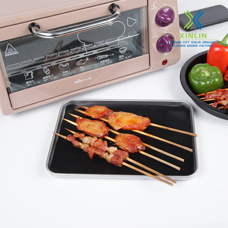 Barbecue Ptfe Copper  Grill Mat