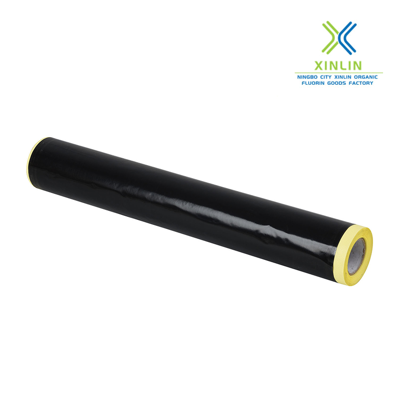 Ptfe Teflon Coated Fiberglass Adhesive Black Tape