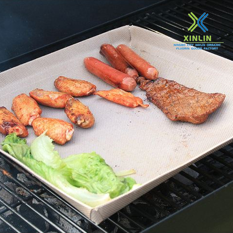 Heat resistant PTFE barbecue basket