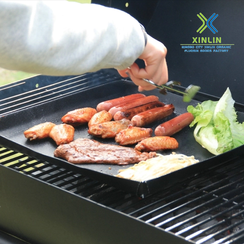 Solid PTFE heat-resistant barbecue basket