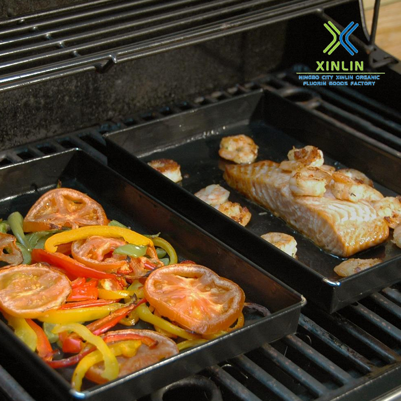 PTFE solid barbecue special basket