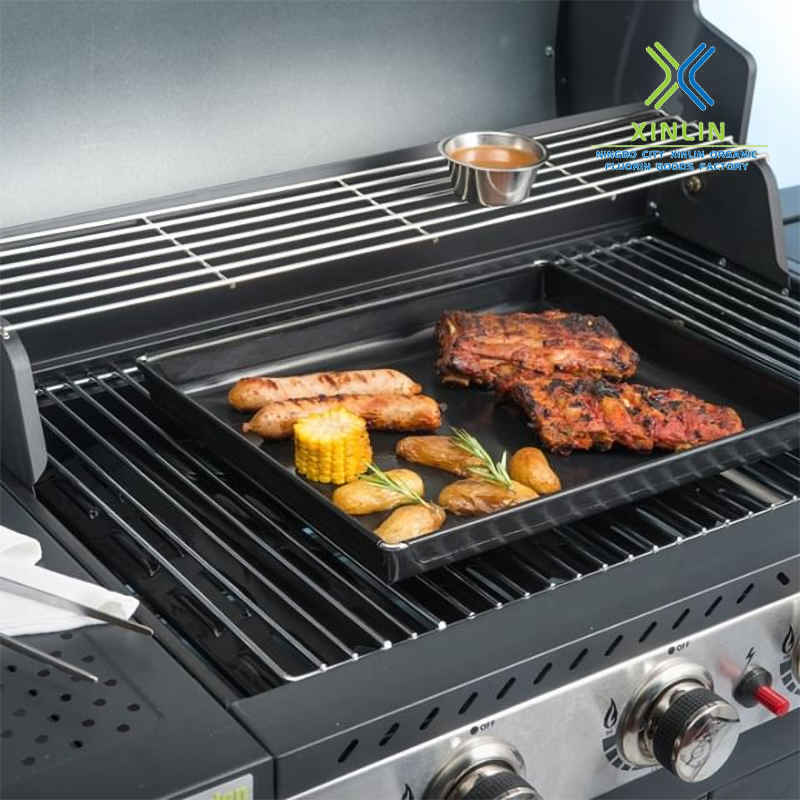Heat-resistant PTFE solid barbecue special basket